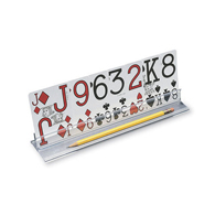 "Ableware 712524010 Playing Card Holder by Maddak-10""-4/Pack"
