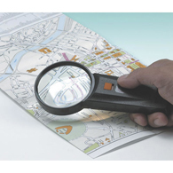 Ableware 733740115 Illuminated Magnifier