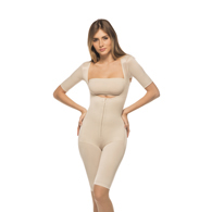 Annette iC-3008 Full Body Above the Knee Girdle w/ Sleeves