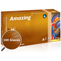 Aurelia Amazing Nitrile Exam Gloves-Case Quantities
