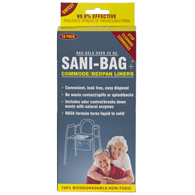 Sani Bag-Plus by Cleanwaste Commode Liners-50 Bulk Pack (H651S50)