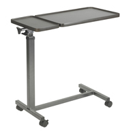 Drive Medical 13068BV Multi-Purpose Tilt-Top Split Overbed Table