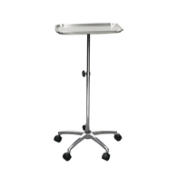 "Drive Medical 13071 Mayo Instrument Stand w/ Mobile 5"" Caster Base"