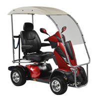"Drive KINGCOBRA422CS-PGV King Cobra Golf Vehicle-4 Wheel-22"" Seat"