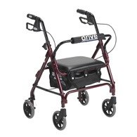 Drive Medical Junior Rollator with Padded Seat