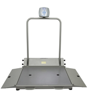 Healthometer 2610KL Wheelchair Scale-1000 lb/454 kg Capacity