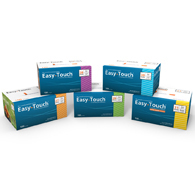MHC 831165 EasyTouch Insulin Syringes-31 G-1 CC-100/Pack