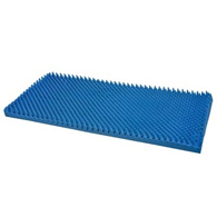 Mabis Healthcare 552-8003-0000 Hospital Bed Size Convoluted Bed Pad