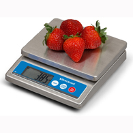 Brecknell 6030 IP67 Portion Control Scale-5000 g/10 lb/160 oz Capacity