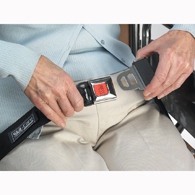 Skil Care 909370 Metal Press Release Seat Belt Alarm w/Grommets
